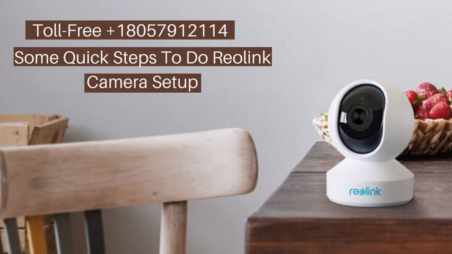Some Quick Steps To Do Reolink Camera Setup