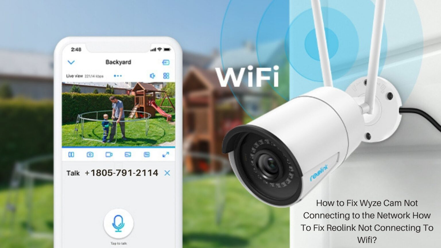 Reolink Not Connecting To Wifi